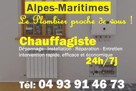 chauffage Alpes-Maritimes - depannage chaudiere Alpes-Maritimes - chaufagiste Alpes-Maritimes - installation chauffage Alpes-Maritimes - depannage chauffe eau Alpes-Maritimes