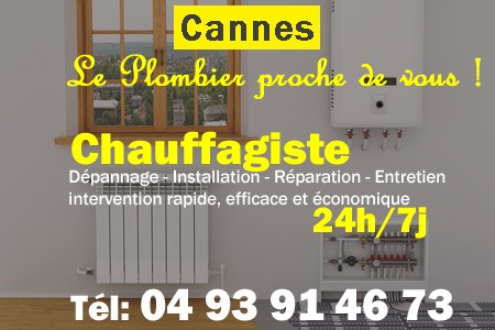 chauffage Cannes - depannage chaudiere Cannes - chaufagiste Cannes - installation chauffage Cannes - depannage chauffe eau Cannes