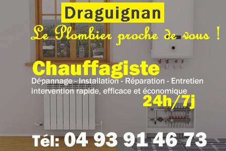 Chauffagiste Draguignan