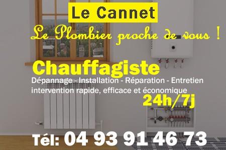 Chauffagiste Le Cannet