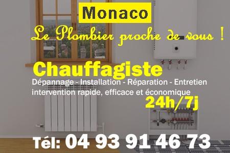 Chauffagiste Monaco