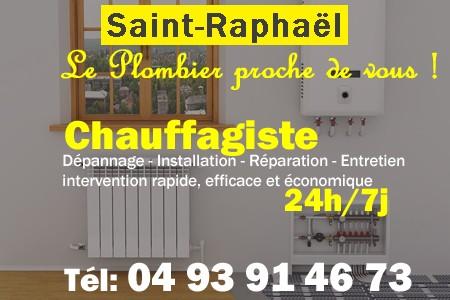 Chauffagiste Saint Raphael