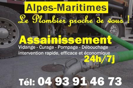 assainissement Alpes-Maritimes - vidange Alpes-Maritimes - curage Alpes-Maritimes - pompage Alpes-Maritimes - eaux usées Alpes-Maritimes - camion pompe Alpes-Maritimes