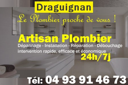 Plombier Draguignan