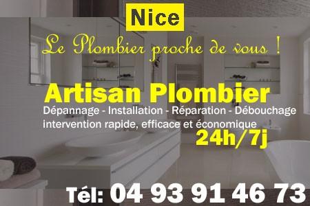 Plombier Nice