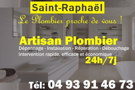 Plombier Saint Raphael